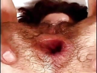 Hairy Nina get fucked in her hairy ass