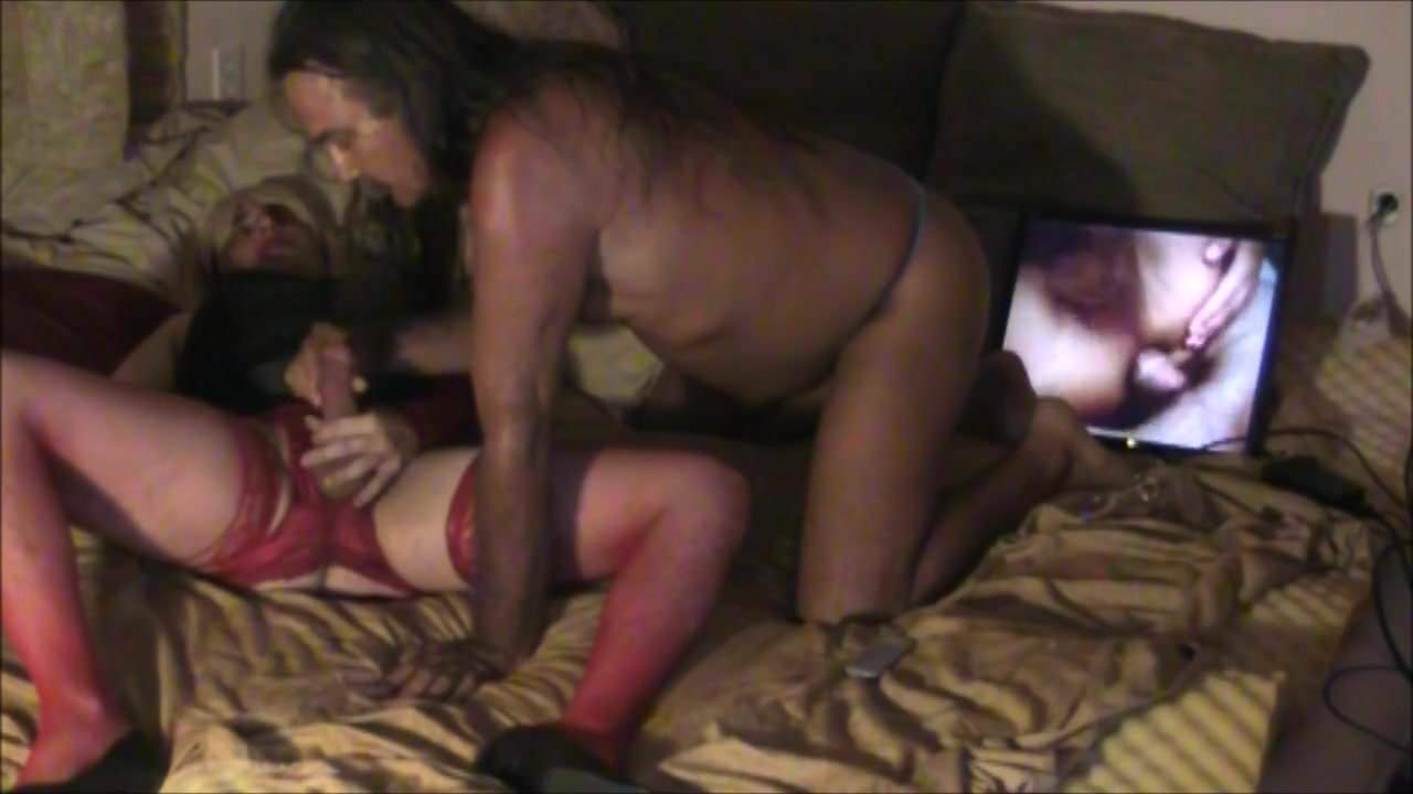 Jamie Sucks Missy Transvestite Cock Slut!