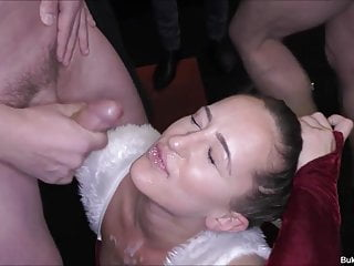 Isabella Her First Bukkake Party