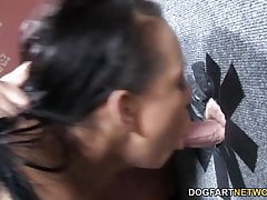 Stacey Day and Rio Lee Share White Cock - Gloryhole
