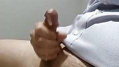 More cum at work