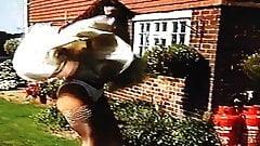 Wind Blown Skirt Distress -Up Close 2