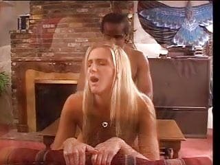 Hottie black babe fucking white dick