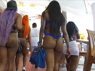 Two Big Booty Black Girls