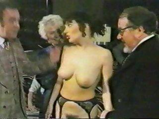 British Lady Traffic Cop At The Spanking Club