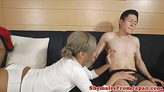 Throating nippon newhalf banged in butthole