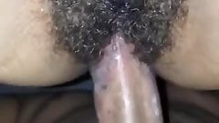 Fucking My WIFE'S Hairy Pussy