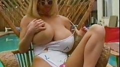 Busty Tiffany Fucking by the Pool