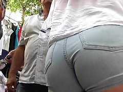 big ass Spanish brunette GLUTEUS DIVINUS