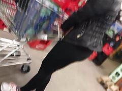 Slut albanian woman in shiny black opaque tights Thumbnail