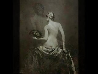 Vintage red wing art pottery - Vintage erotic foto art