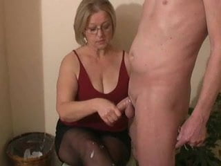 Bbw hand job well done