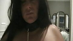 Chubby Chic in sex slave training