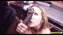 Big Black Dick For A White Chick Nikki Sexx's Thumb