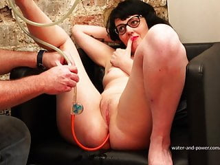Sit and Swell Part 1 (enemas and belly inflation)