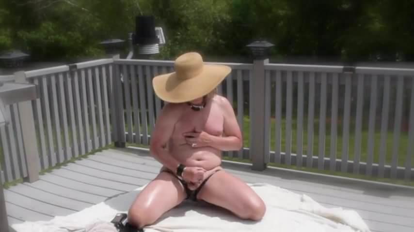 Black Latex Bikini