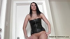 You are going to suck this fat cock for me