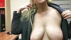 Penny Sneddon making a man cum in 25 seconds