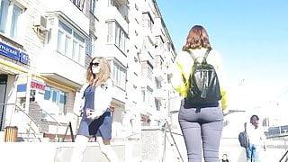Promoter girl's ass