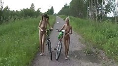nudest bike ride