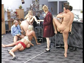 Blonde German Short Hair MILF needs Cock for Supper PART 2