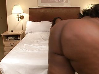 Two chocolate skinned BBW's get wet for a dildo