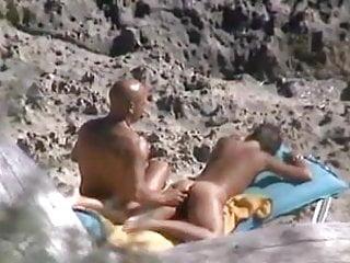 Nude Beach Couple