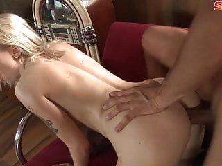 Double Dipping In Blonde Teen With Big Boobs