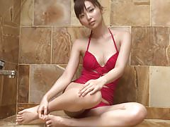 RISA Breathe - Showering Red Swimsuit (Non-Nude)