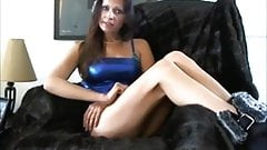Babe in Blue Small Dick Humili