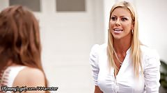 MommysGirl Alexis Fawx Shows Step-Daughter Whos Boss