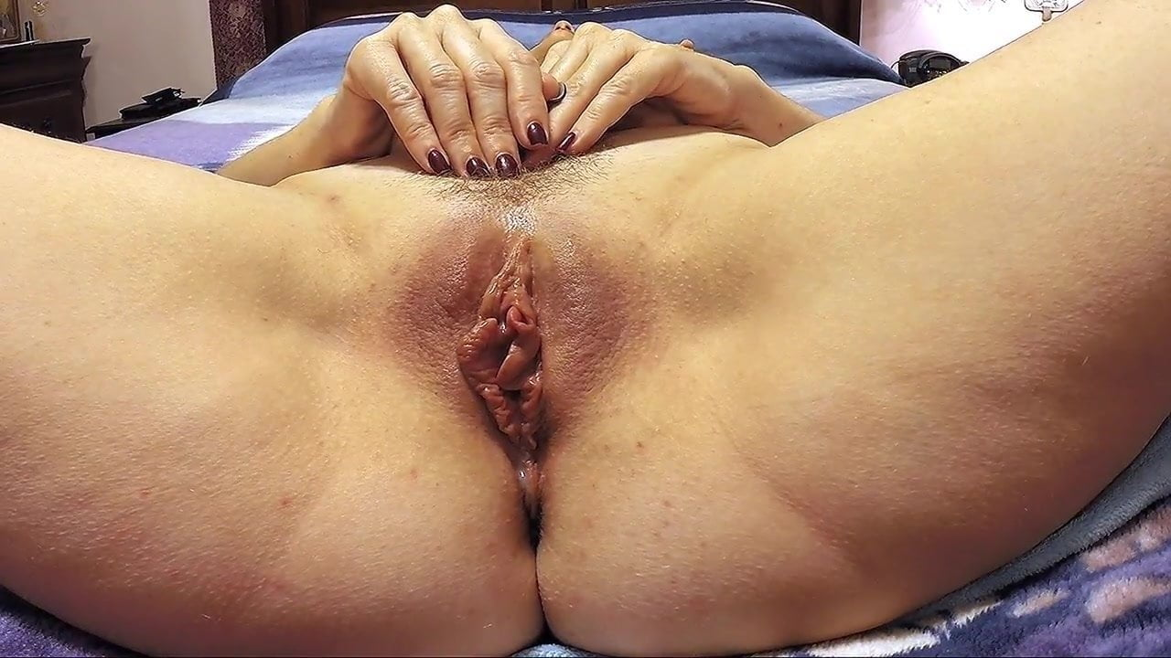 Pulsating pussy orgasms