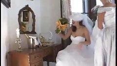 la mariee prend son pied