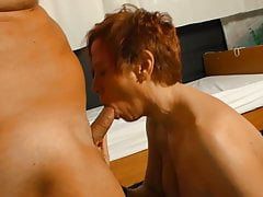 XXX Omas - German redhead mature gets fucked by horny doctor