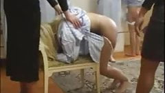Weekend Spanking in a Detention House