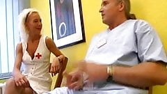 German Mature Nurse of sex