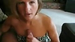 Cougar Cock sucking