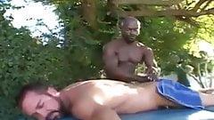 Will West and Ben Gunn in Bareback Beef (Massage Full Scene)