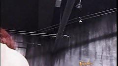 Freckled ginger slut enjoys getting tied up by her kinky dom