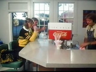 Nfl cheerleader turns pornstar - Marilyn chambers as a cheerleader takes on 2 guys
