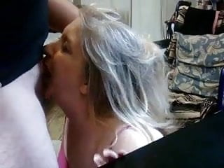 mature wife giving head