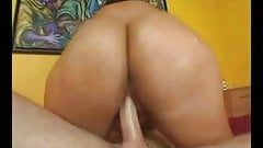 PAWG Vanessa Takes On Huge Cock