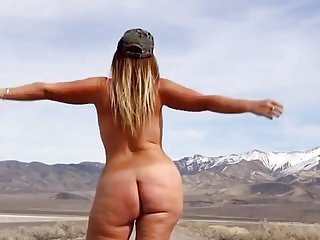 PAWG - Half Nude
