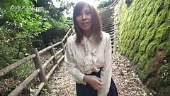 Chihiro Akino Shows Pussy in The Open Air - CARIBBEANCOM's Thumb