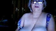 Russian granny ex-teacher flas