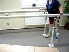 pump polio leg brace