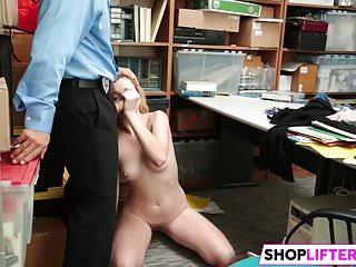 Shoplifting Sweety Whore Zoe Gets Nailed