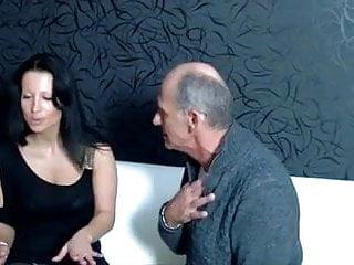 Old man seduce young whore