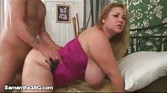 BBW Samantha 38G fucks AVN Winner Mr Pete