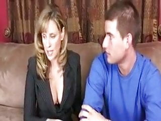 stepMom sex education for her stepson to go to college